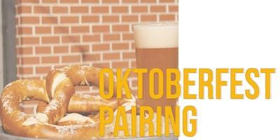 Oktoberfest Pairing: Brats + Beers + Pretzels