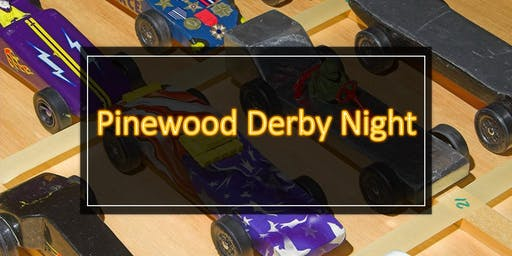 2019 Pinewood Derby Night at the North Star Museum