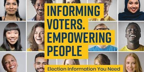 Voter Information Potluck tickets