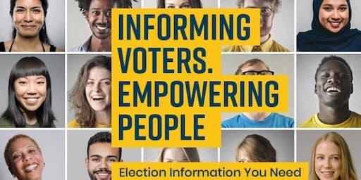 Voter Information Potluck