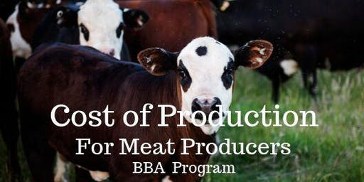 Cost of Production (Meat Producers) in Cranbrook