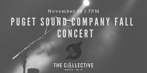 Puget Sound Company Fall Concert