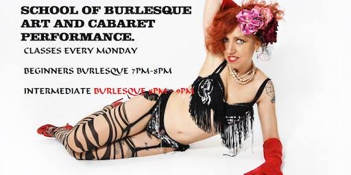 Burlesque  and shimmycize class