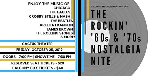 Rockin' ¹60s and ¹70s Nostalgia Nite