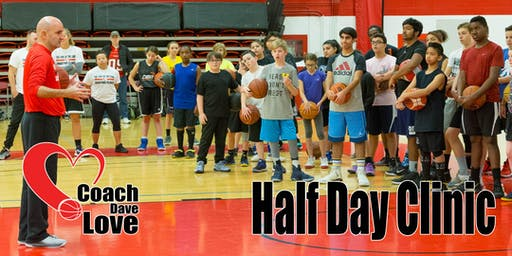 Coach Dave Love Shooting Half Day Clinic - Brantford