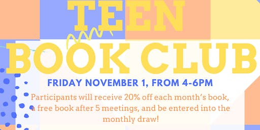 Teen Book Club November