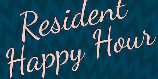 Resident Happy Hour - GDC Rentals