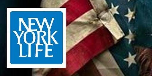 2019 New York Life - 5th Annual Veteran's Appreciation Breakfast (FREE)