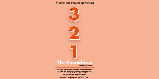 THE COUNTDOWN, hosted by En Serio