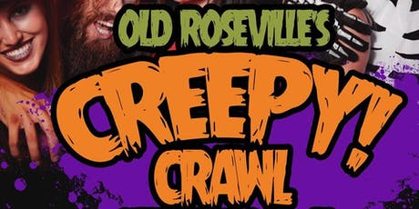 Old Roseville's Creepy Crawl Halloween Bar Crawl 2019 tickets