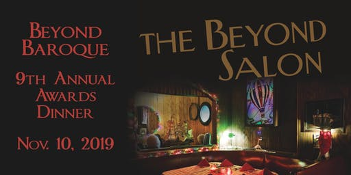 Beyond Baroque Awards Dinner: The Beyond Salon