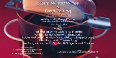 Warm Winter Wines & Food Pairing tickets