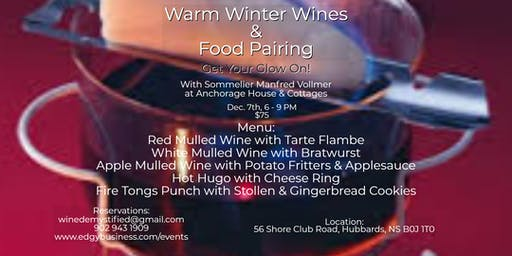 Warm Winter Wines & Food Pairing