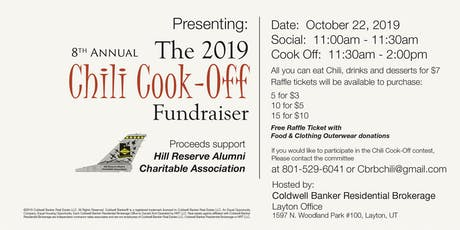 8th Annual Chili Cook-Off tickets