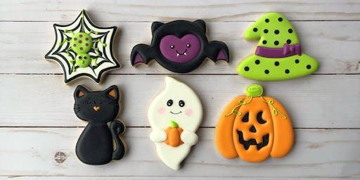 Happy Halloween - Beginner Cookie Decorating Class