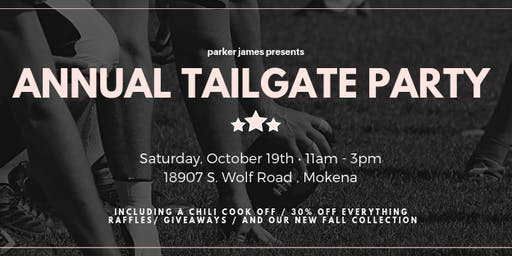 Parker James' Annual Tailgate Party