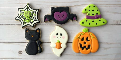 **SOLD OUT**  Happy Halloween - Beginner Cookie Decorating Class