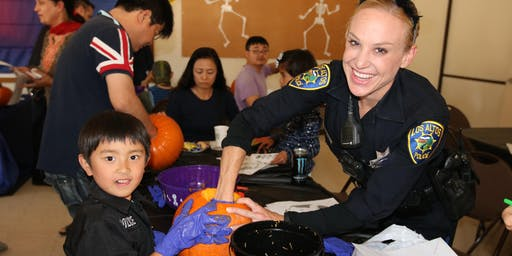 Pumpkin Carving with a Cop