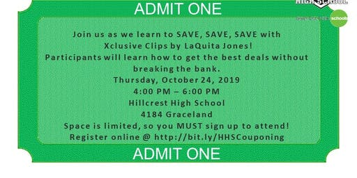 Hillcrest's Extreme Savings FREE Couponing Class