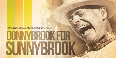 LIVE #AtTheEnz: DonnyBrook For SunnyBrook (Tragically Hip Weekend) tickets