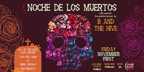 Luna Red's Noche De Los Muertos Party tickets