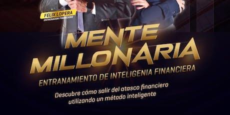 Copy of Mente Millonaria! Descubre  cómo salir del atasco financiero entradas