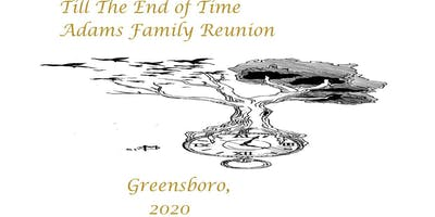 Adams Family Reunion 2020