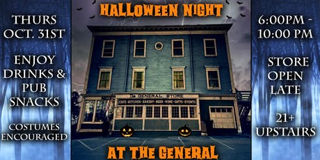 Halloween Pub Night tickets