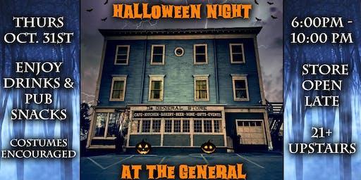 Halloween Pub Night