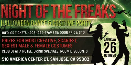 Night of the Freaks - Halloween Dance & Costume Party