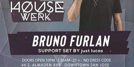 Bruno Furlan at LVL44, October 24th tickets