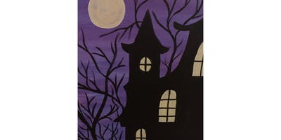 "Open Paint (13yrs+) ""Haunted House"""