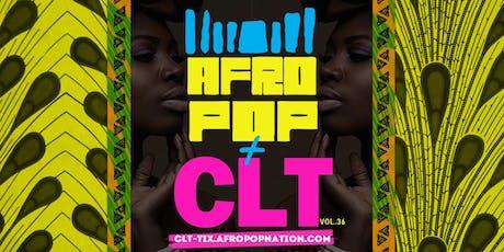 AfroPop! Charlotte, Vol.36: Afrobeats, Soca, Live Drums & More! tickets