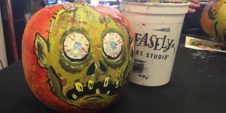 Halloween Pumpkin Painting tickets