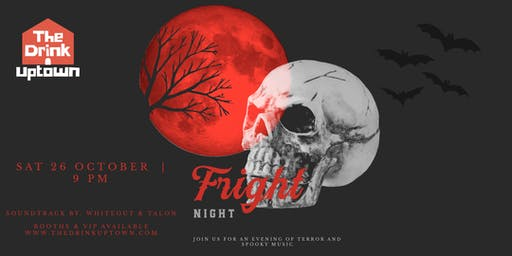 Turn Up Saturdays Present: Fright Night VIP Pass