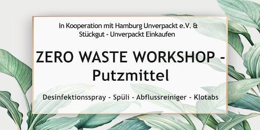 Zero Waste Workshop Hamburg - Putzmittel