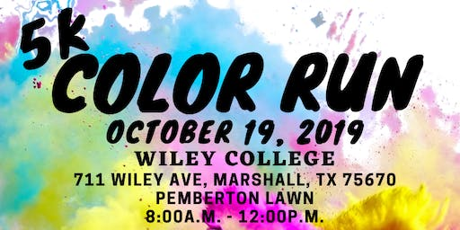 5K Color Run: Wiley College