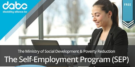 MSDPR-The Self-Employment Program (SEP) for People with Disabilities tickets