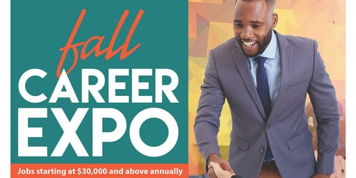 Fall Career Expo - Jobs Paying $30,000 or More Per Year