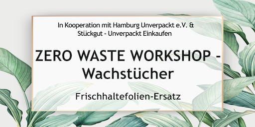 Zero Waste Workshop Hamburg - Wachstücher