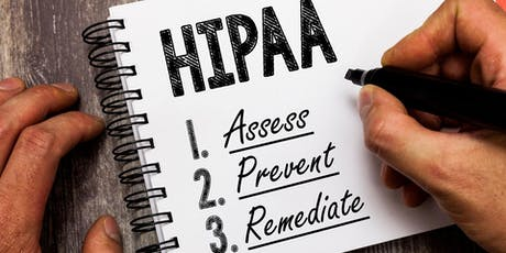 POSTPONED: You Can't Afford not to be HIPAA Compliant, and the FBI Will tickets