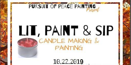 Lit, Paint & Sip