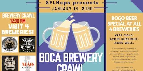 Boca Brewery Crawl tickets