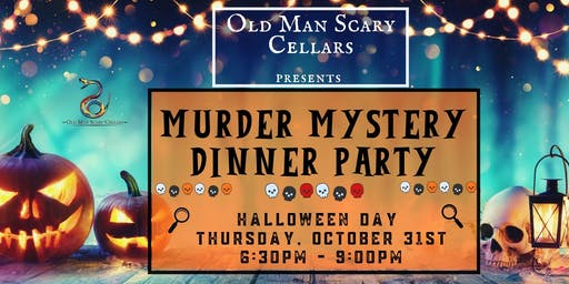 Murder Mystery Halloween Dinner Party