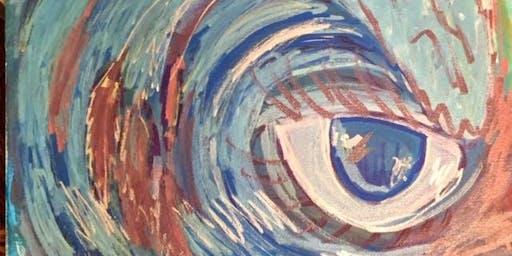 Pour & Paint Wave