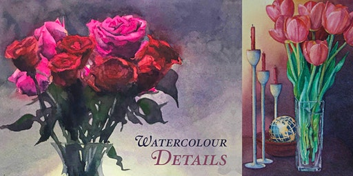 Watercolour Still Life • Embracing Detail