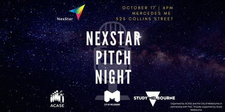 NexStar 2019 Pitch Night tickets