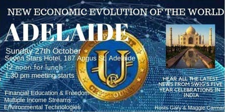 SWIG Adelaide The New Economic Evolution of the World  tickets