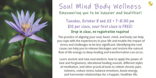 Soul Mind Body Wellness: Healing through sound and movement!