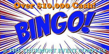 $10,000 New Year's Eve Bingo tickets